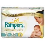 Scutece PAMPERS Premium Care 2 Mini, 32 buc, 3-6 kg