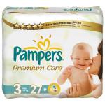Scutece PAMPERS Premium Care 3 Midi, 27 buc, 4-9 kg