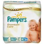 Scutece PAMPERS Premium Care 4 Maxi, 24 buc, 7-18 kg