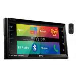 "DVD player auto JVC KW-V620BT, 4x50W, 2DIN, 6.8"", USB, Bluetooth, HDMI, MHL"