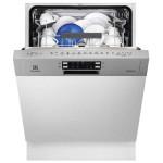 Masina de spalat vase semi-incorporabila ELECTROLUX ESI5540LOX, 13 seturi, 6 programe, 4 temperaturi, 60cm,  A++, inox