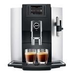 Espressor automat JURA E8, 12 specialitati One Touch, tehnologie P.E.P.®, afisaj TFT, 1.9l, 15 bari, 1,9 l, negru-argintiu