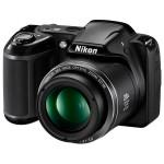 Camera foto digitala NIKON Coolpix L340, 20 Mp, 28x, 3 inch, negru