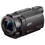 Camera video 4K SONY FDR-AX33, negru