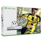 Consola MICROSOFT Xbox One Slim 500 GB, Alb + Joc FIFA 17 (cod download ) + 1 luna EA Access