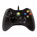 Controller MICROSOFT Xbox 360, negru