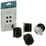 Protectie butoane PS4 - Zedlabz Alloy Metal Bullet X4, jet black