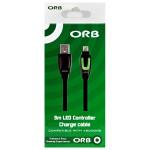 Cablu USB ORB Charge & Play cu LED pentru controller Xbox One