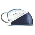 Statie de calcat PHILIPS SpeedCare GC6606/20, talpa ceramica, 2400W, 1,2 l, 4.4bar, 95 gr/min, alb-albastru