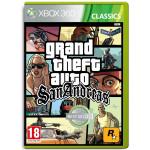 Grand Theft Auto (GTA) San Andreas Xbox 360
