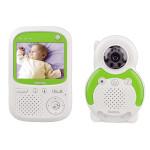 Baby monitor HAMA BM150, 300m, alb - verde