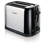 Prajitor de paine PHILIPS Daily Collection HD2586/20, 950W, negru - argintiu