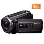 Camera video Full HD cu proiector incorporat SONY HDR-PJ530E, negru