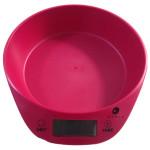 Cantar de bucatarie MYRIA HH-1377RD, 5kg, rosu