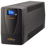 UPS NJOY Horus 800VA, LCD tactil, 2 Schuko