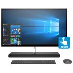 "Sistem All in One HP Envy 27-b100nq, 27"" QHD Touch, Intel® Core™ i5-7400T pana la 3.0GHz, 8GB, HDD 1TB + SSD 128GB, NVIDIA GeForce GTX 950M 4GB, Windows 10 Home"