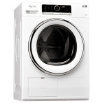 Uscator de rufe WHIRLPOOL Supreme Dryer HSCX 80420, 8kg, A++, alb