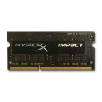 DDR3L SODIMM Kingston HyperX Impact Black 4GB 1600MHz CL9 1.35V, HX316LS9IB/4