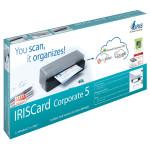 Scanner IRIS IRISCard Corporate 5, A6, USB, gri-negru