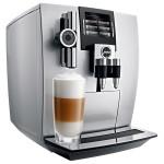 Espressor automat JURA J90, afisaj TFT, rasnita Aroma+, Fine Foam, cappuccino si latte macchiato one touch, 2.1l, 15 bari, 1450W, argintiu