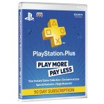PlayStation Plus Membership (90 de zile) UK  PS4