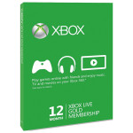 Card Xbox Live Gold 12 luni Xbox 360/Xbox One