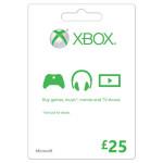 MICROSOFT Gift Card £25 Xbox One / Xbox 360