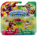 Set 2 figurine Fire Kraken, Grilla Drilla - Pack 4 - Skylanders SWAP Force