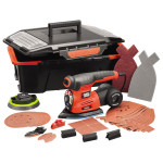 Slefuitor multifunctional 4 in 1 BLACK & DECKER KA280AST2, 13.000 rpm