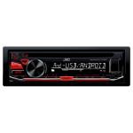 Radio CD auto JVC KD-R471, 4x50W, USB, iluminare rosu