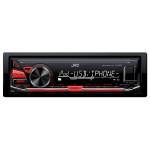 Radio MP3 auto JVC KD-X230E, 4X50W, USB, iluminare rosie