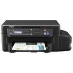 Multifunctional inkjet EPSON L605 CISS, A4, USB, Retea, Wi-Fi