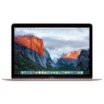 """Laptop APPLE MacBook 12"""" Retina Display mmgm2ze/a, Intel® Core™ m5 pana la 2.7GHz, 8GB, 512GB, Intel HD Graphics 515, OS X El Capitan, Rose Gold - Tastatura layout INT"""