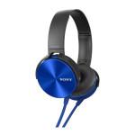 Casti tip DJ SONY MDR-XB450APL, Albastru