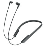 Casti in-ear cu microfon Sony MDR-XB70BTB, Wireless, Bluetooth, NFC, EXTRA BASS, Negru