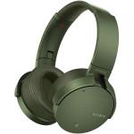Casti on-ear Bluetooth SONY MDR-XB950N1G, NFC, Wireless, Verde