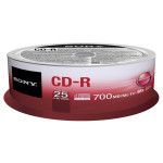CD+R DL SONY 25CDQ80SP, 48x, 700MB, 25buc - Spindle