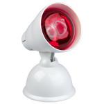 Lampa cu infrarosu MEDISANA IRH 100W, pozitie ajustabila, alb