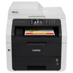 Multifunctional laser color BROTHER MFC-9340CDW, A4, USB, Retea, Wi-Fi
