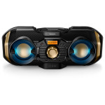 Minisistem audio PHILIPS PX840T/12, 50W, Bluetooth, CD, USB, FM, negru