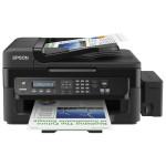 Multifunctional inkjet EPSON L550 CISS, A4, USB, Retea