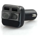 Modulator FM PROMATE SMARTUNE, Bluetooth, USB, negru