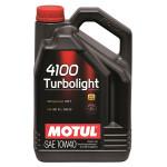 Ulei motor MOTUL 4100 Turbolight, 10W40, 4l