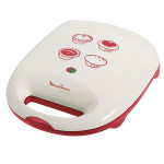 Aparat multifunctional MOULINEX Pie & Co SM2205, 1150W, alb - rosu