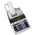 Calculator de birou CANON MP1211-LTSC , 12 cifre, Rola, argintiu