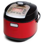 Multicooker cu presiune inalta OURSSON MP5010PSD/RD, 5l, 1100W, rosu