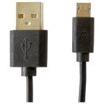 Cablu pentru incarcare / sincronizare microUSB MYRIA MY9008, negru