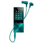 MP4 player Hi-Res SONY Walkman NW-A25HNL, 16GB, Noise-canceling, Viridian Blue