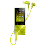 MP4 player Hi-Res SONY Walkman NW-A25HNY, 16GB, Noise-canceling, Lime Yellow