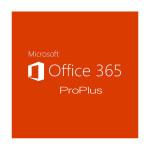 Licenta electronica Microsoft Office 365 ProPlus, 1 an, 5 PC/Mac, ShrdSvr SNGL SubsVL OLP NL Annual Qlfd